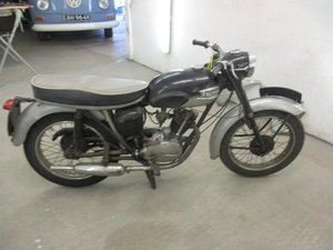 1961 Triumph T20 Tiger Cub bikini fairing model For Sale