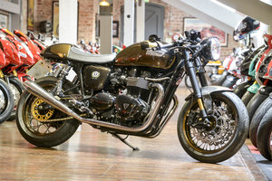 2011 904S Ace Cafe Racer No#15 of 15 Delivery Mileage