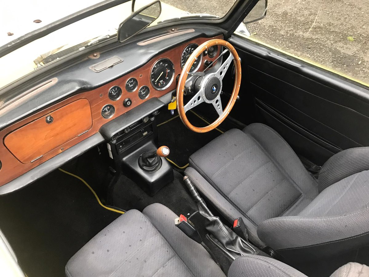 1973 Triumph TR6 Manual  For Sale (picture 5 of 5)