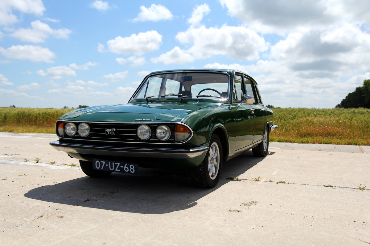 1978 Triumph 2500 TC Saloon overdrive LHD For Sale (picture 1 of 6)