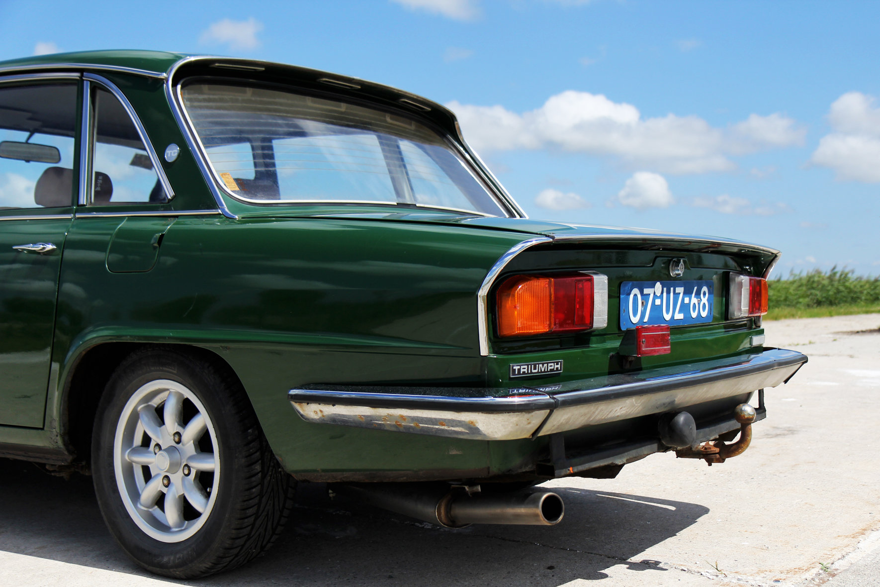 1978 Triumph 2500 TC Saloon overdrive LHD For Sale (picture 6 of 6)