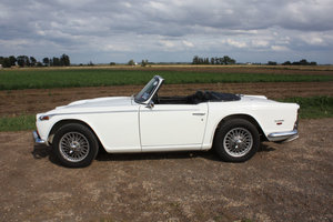 1968 TRIUMPH TR5 GENUINE UK RHD IN WHITE SOLD