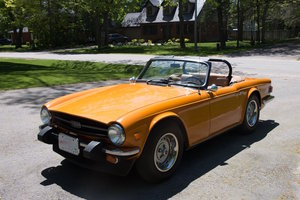 1976 Triumph TR6 with o/d For Sale