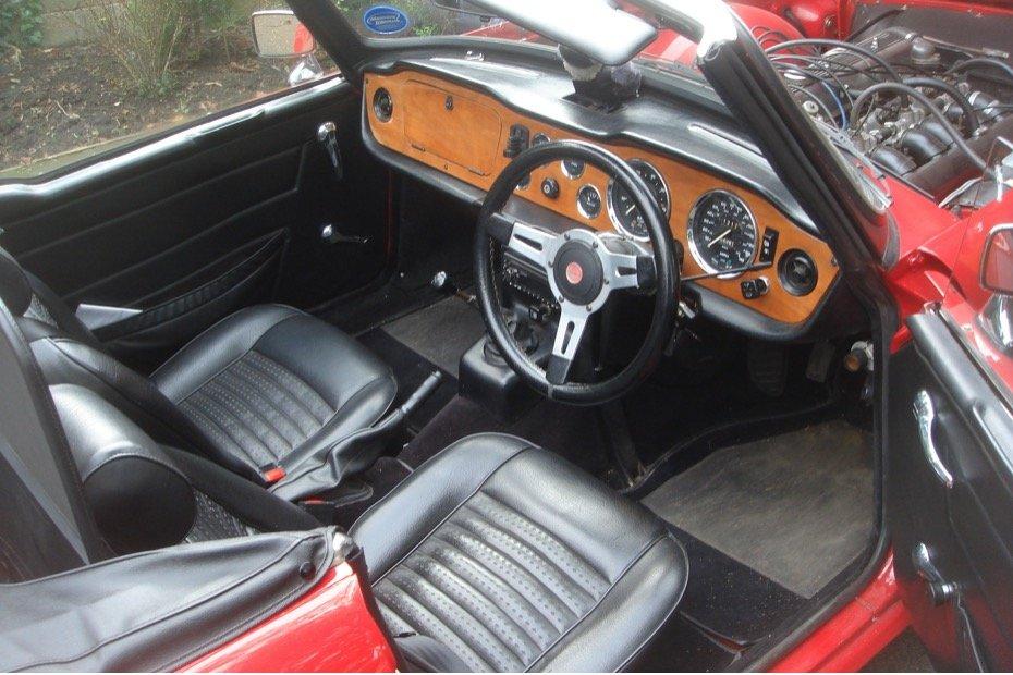 1973 Triumph Tr 6  For Sale (picture 5 of 6)