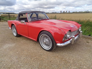1962 Triumph tr4 with overdrive - very clean !! For Sale