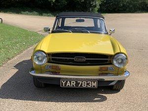 1973 Triumph TR6  SOLD
