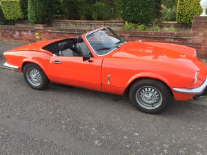 1981 TRIUMPH SPITFIRE 1500 - Very original For Sale