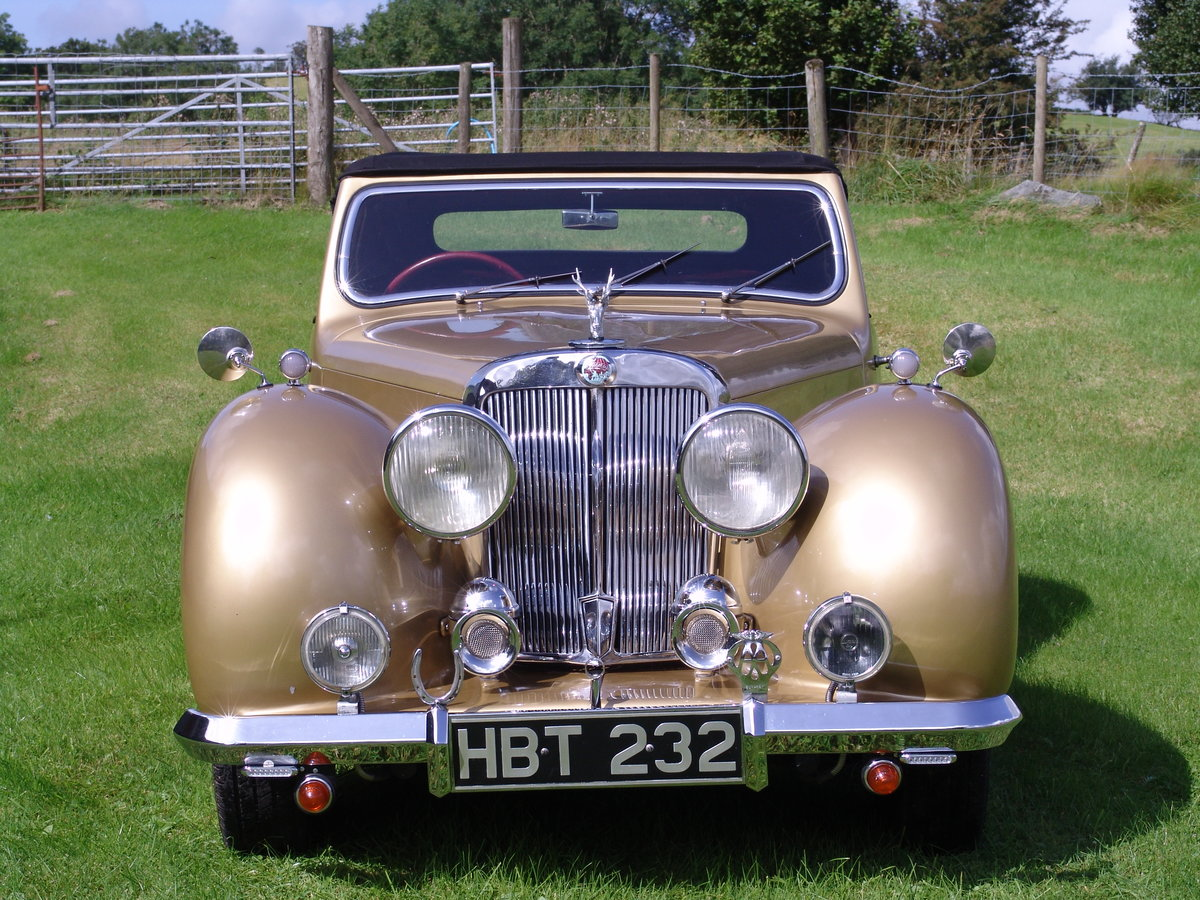 1949 TRIUMPH ROADSTER 2000 North Wales For Sale (picture 1 of 6)