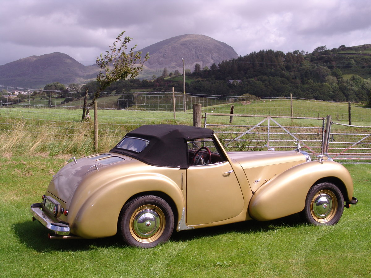 1949 TRIUMPH ROADSTER 2000 North Wales For Sale (picture 2 of 6)