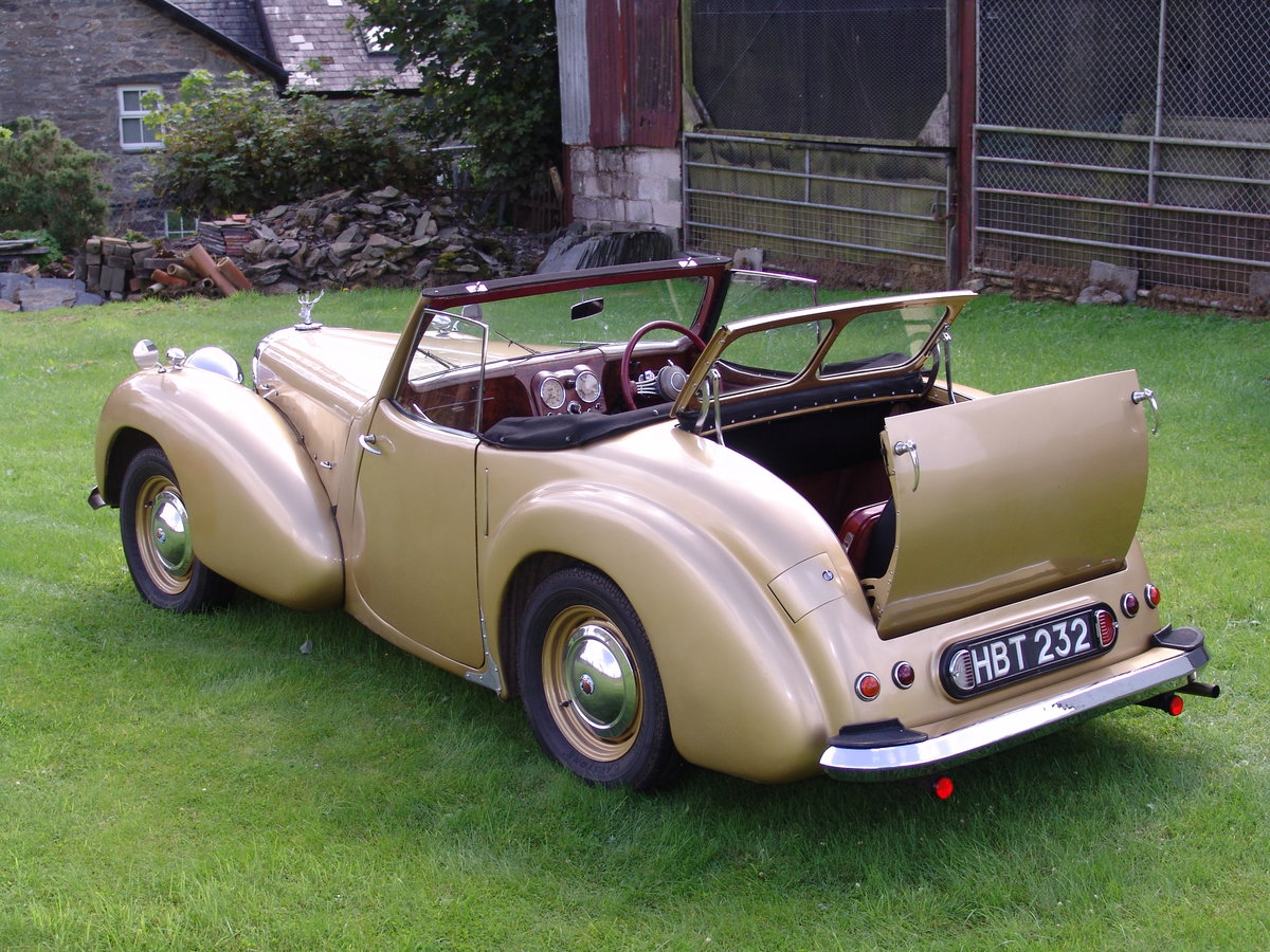 1949 TRIUMPH ROADSTER 2000 North Wales For Sale (picture 3 of 6)