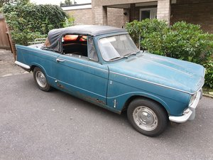 1968 Triumph Vitesse MKI Convertible - Overdrive For Sale