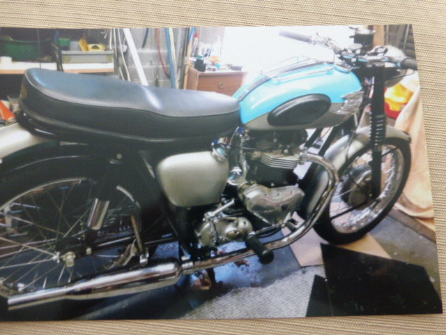 1961 Triumph 650 Rebuilt to a very Good Standard For Sale (picture 1 of 3)