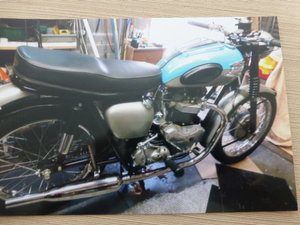 1961 Triumph 650 Rebuilt to a very Good Standard For Sale