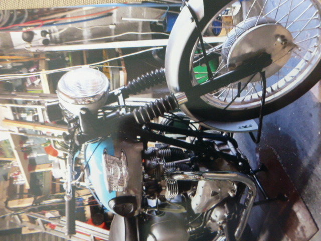 1961 Triumph 650 Rebuilt to a very Good Standard For Sale (picture 2 of 3)