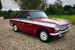 1965 TRIUMPH VITESSE 6 MK1 - RARE SPORTS SALOON - POSS PX For Sale