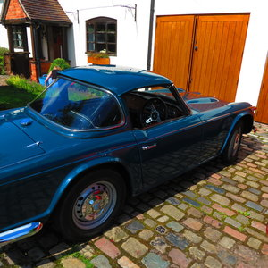 1967 TR4 IRS Surrey Top Outstanding  For Sale