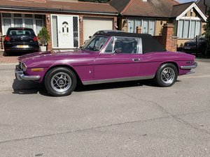 Triumph Stag 3.0 V8 Automatic 1973 L 'Low Owners' For Sale