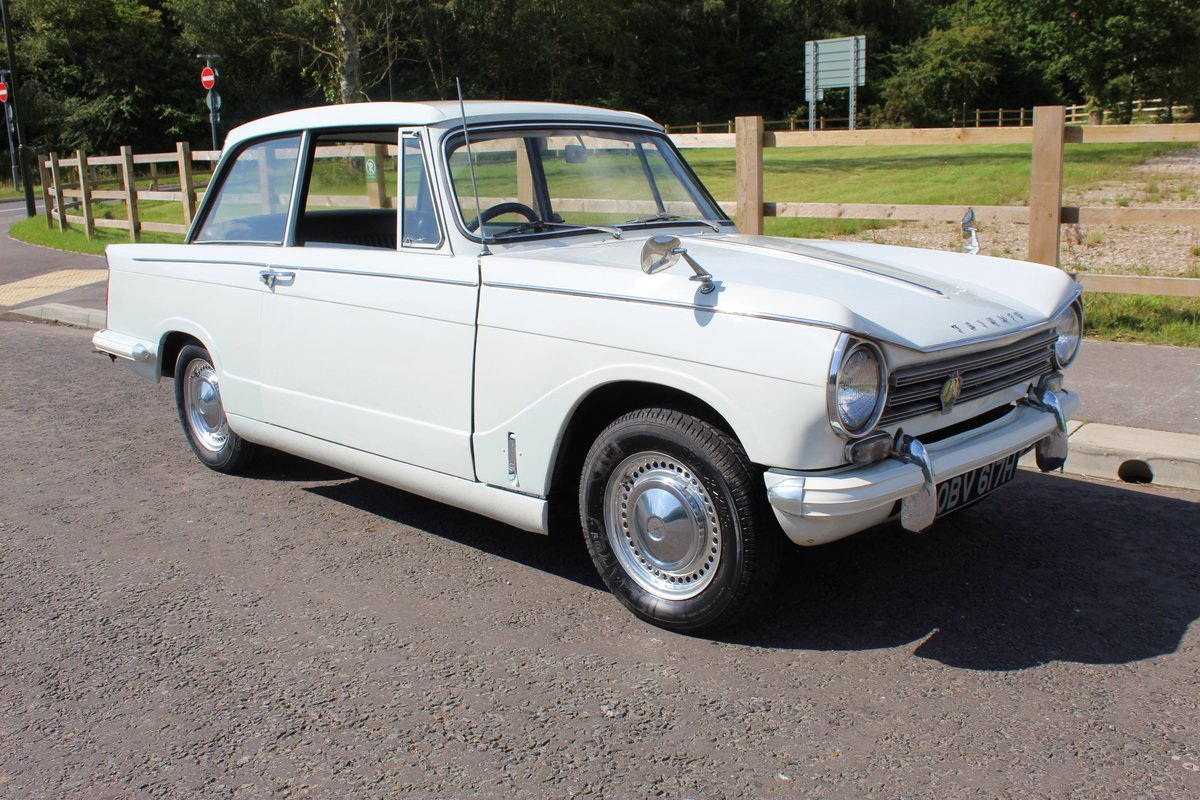 1970 Triumph Herald 13/60 Saloon , 53,000 Miles FSH SOLD (picture 1 of 6)