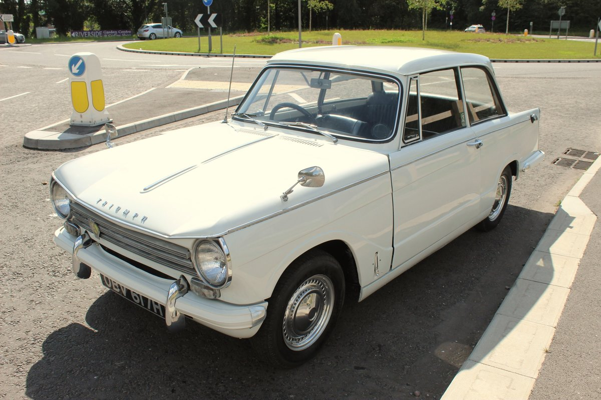 1970 Triumph Herald 13/60 Saloon , 53,000 Miles FSH SOLD (picture 3 of 6)