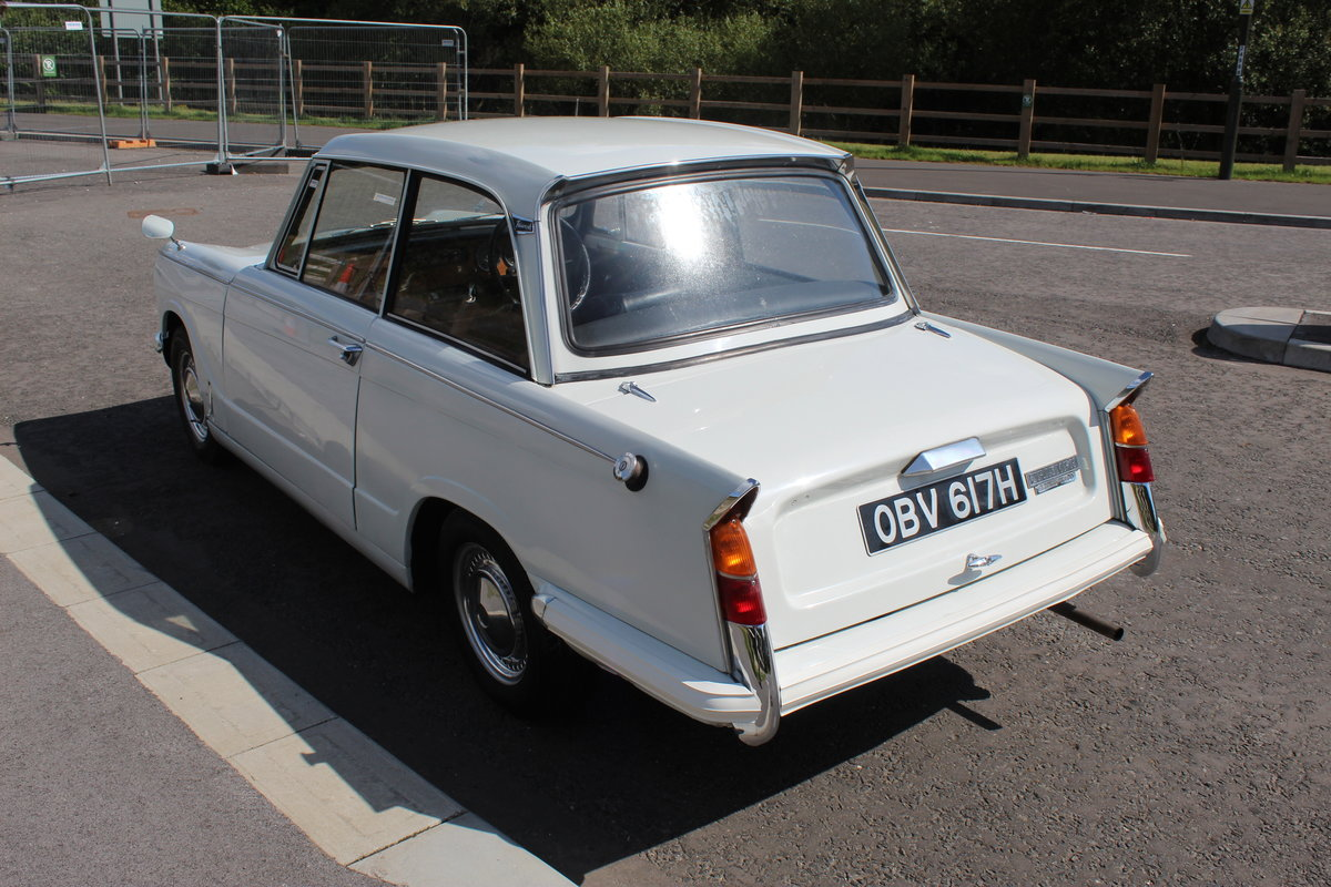 1970 Triumph Herald 13/60 Saloon , 53,000 Miles FSH SOLD (picture 4 of 6)