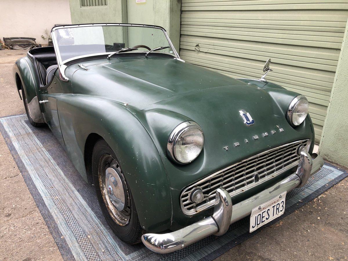 ***1960 Triumph TR3  For Sale (picture 1 of 6)