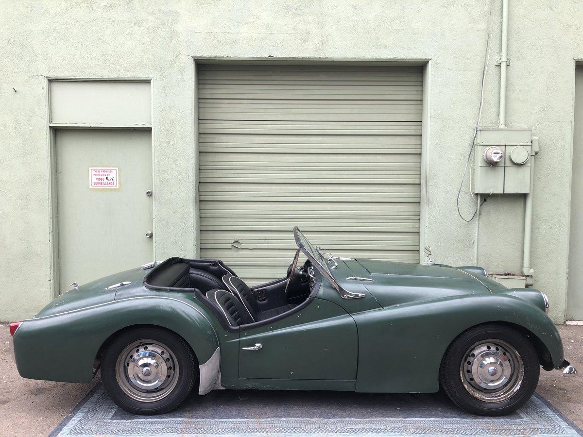 ***1960 Triumph TR3  For Sale (picture 3 of 6)