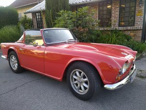 1963 Triumph TR4 LHD with O/D