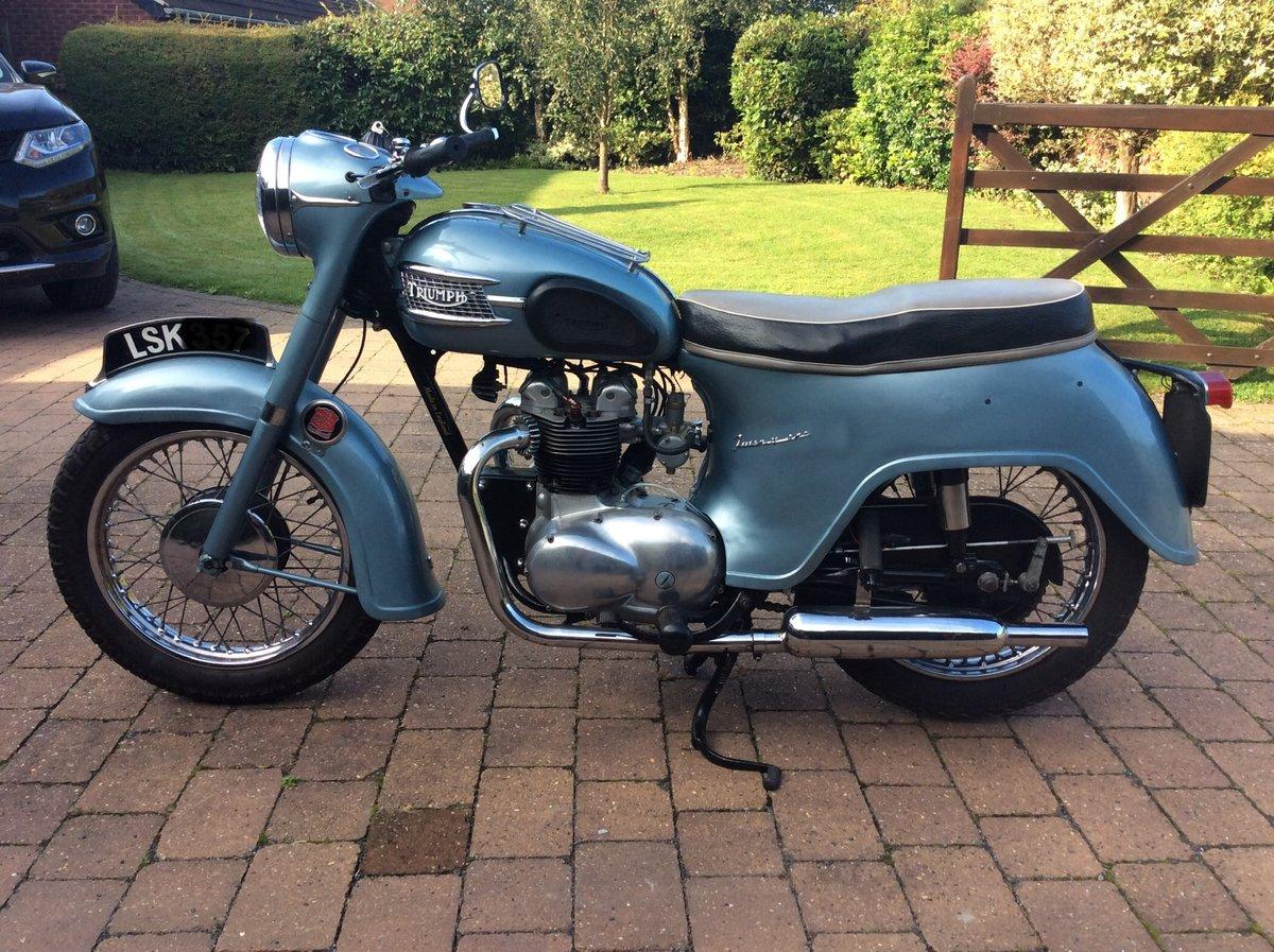 1958 Triumph 3ta SOLD (picture 3 of 6)