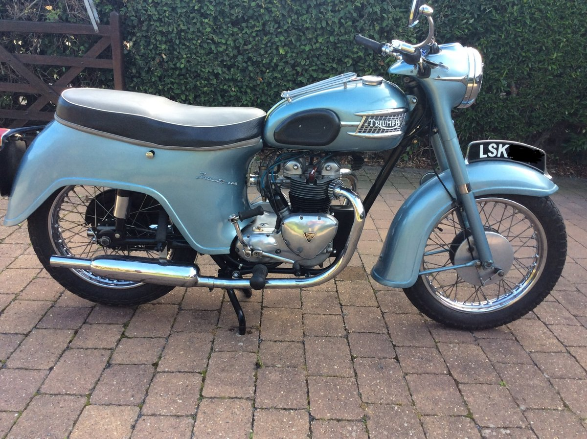 1958 Triumph 3ta SOLD (picture 4 of 6)