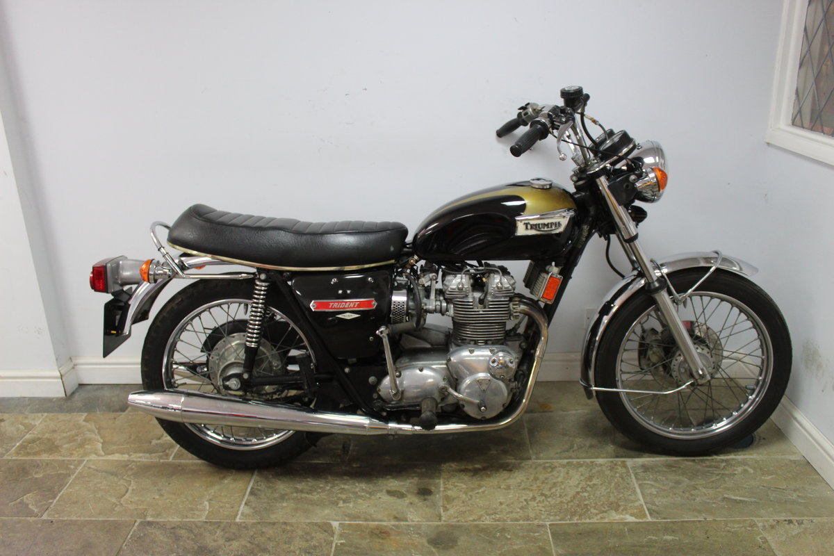 1973 Triumph Trident T150 V 750 cc Matching Numbers For Sale (picture 1 of 6)