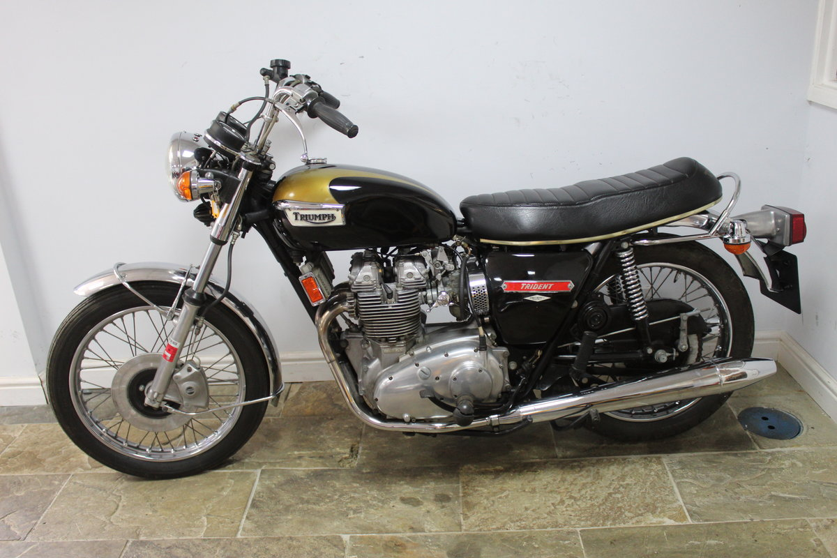 1973 Triumph Trident T150 V 750 cc Matching Numbers For Sale (picture 5 of 6)