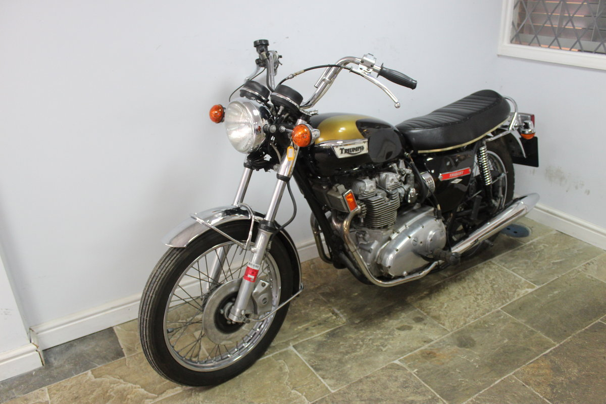 1973 Triumph Trident T150 V 750 cc Matching Numbers For Sale (picture 6 of 6)