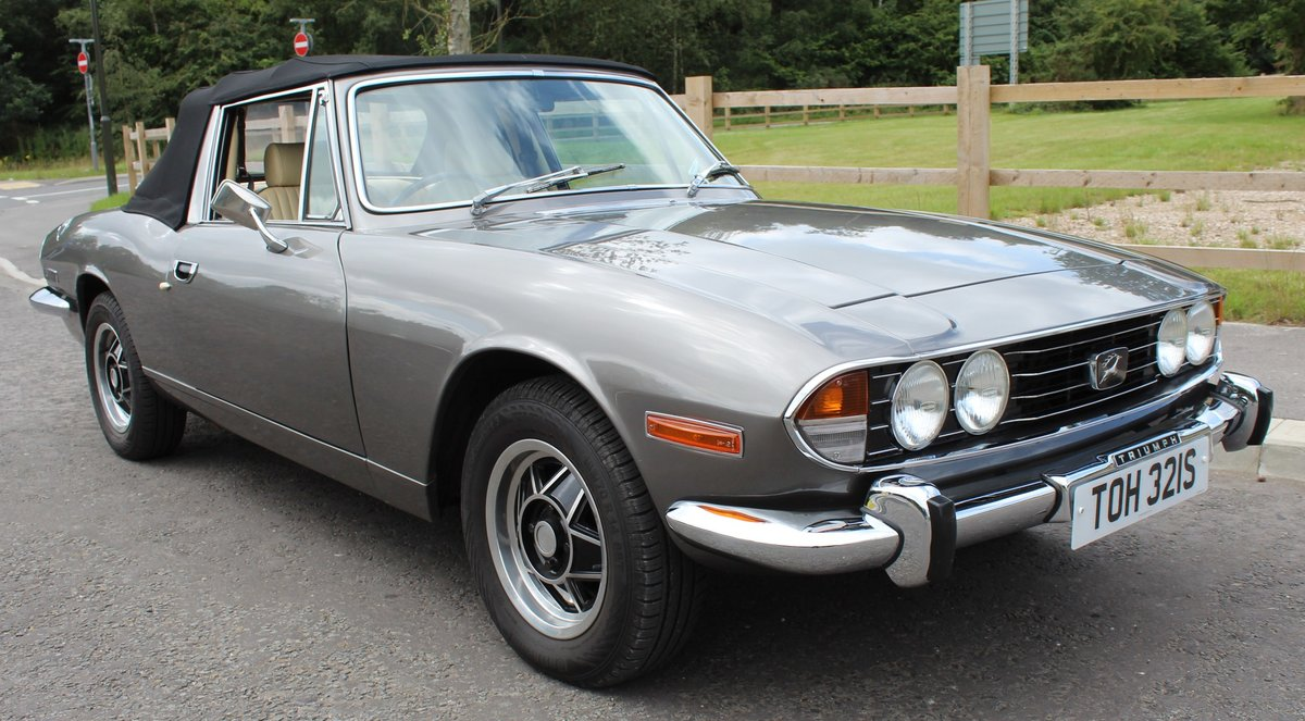 1978 Triumph Stag MK2 Manual With Overdrive V8 SOLD (picture 1 of 6)