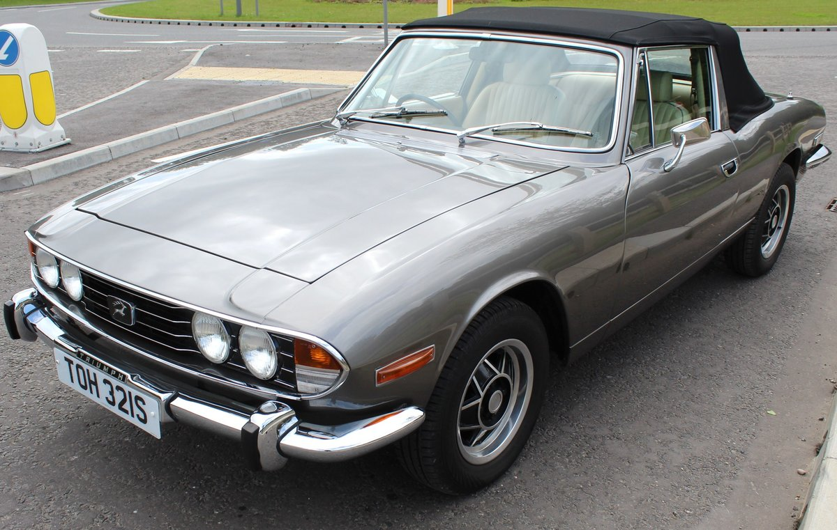 1978 Triumph Stag MK2 Manual With Overdrive V8 SOLD (picture 2 of 6)