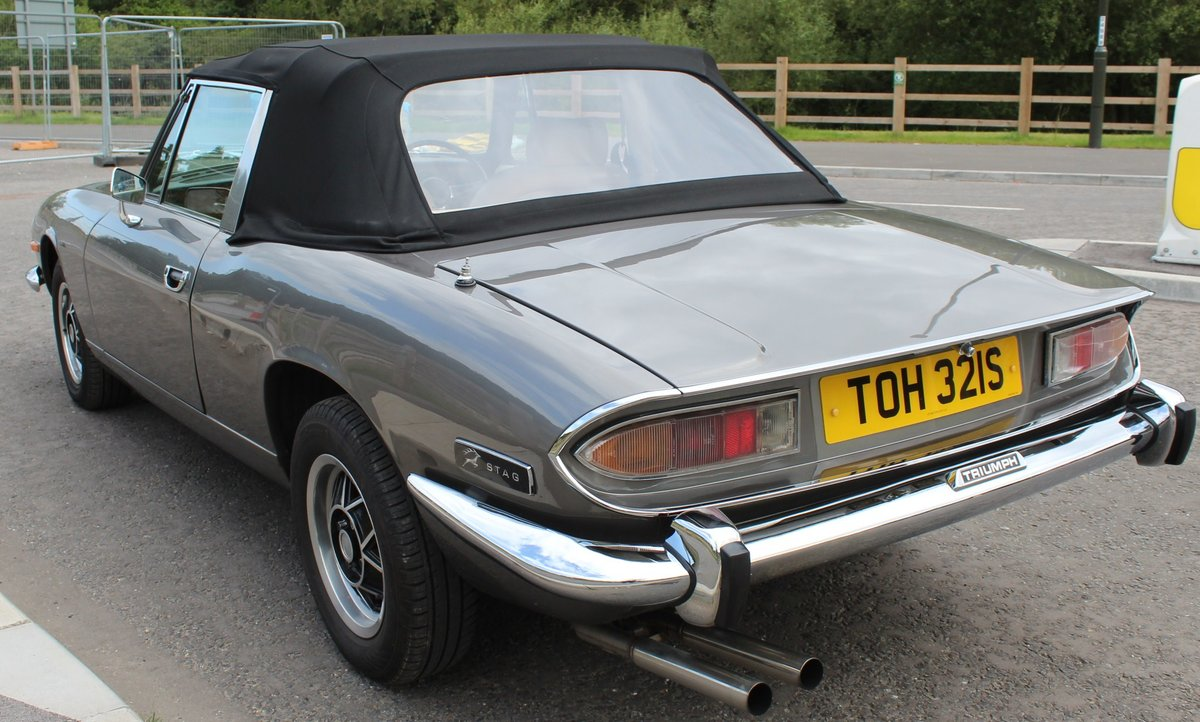1978 Triumph Stag MK2 Manual With Overdrive V8 SOLD (picture 3 of 6)