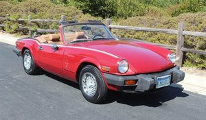 1979 Triumph Spitfire Convertible = Clean Red(~)Tan $5k