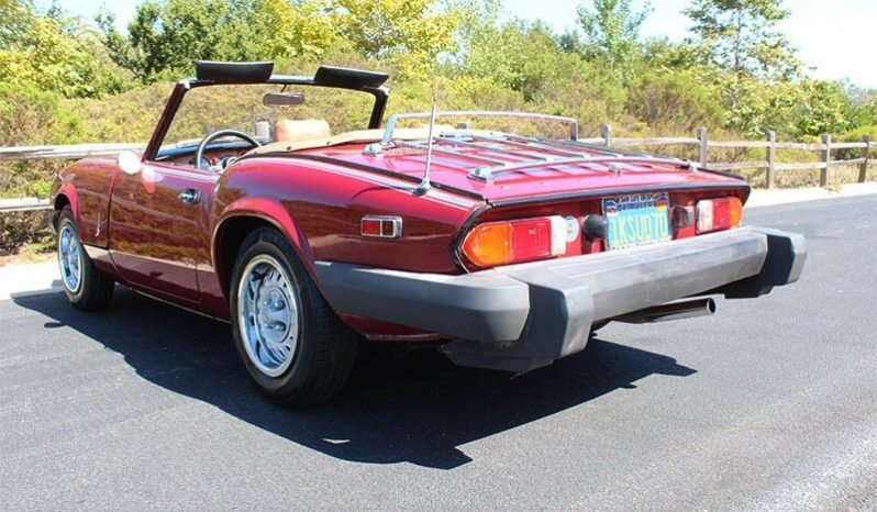 1979 Triumph Spitfire Convertible = Clean Red(~)Tan $5k For Sale (picture 2 of 6)