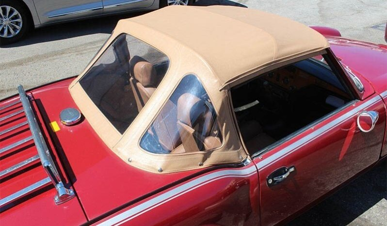 1979 Triumph Spitfire Convertible = Clean Red(~)Tan $5k For Sale (picture 3 of 6)