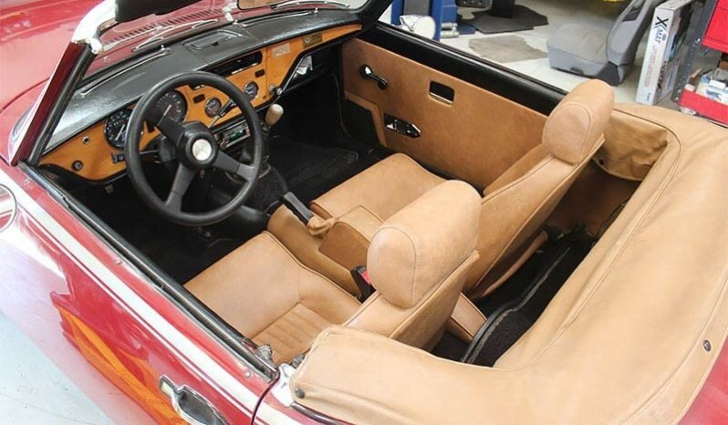 1979 Triumph Spitfire Convertible = Clean Red(~)Tan $5k For Sale (picture 4 of 6)