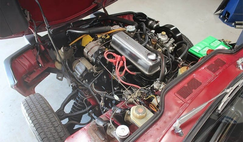 1979 Triumph Spitfire Convertible = Clean Red(~)Tan $5k For Sale (picture 5 of 6)