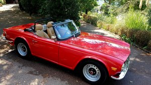 1974 Triumph TR6 completely restored For Sale