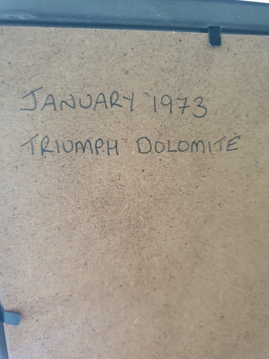 1973 Triumph Dolomite advert Original  For Sale (picture 2 of 2)
