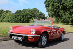 Triumph Spitfire 1972 - To be auctioned 25-10-19 For Sale by Auction
