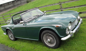 1968 Triumph TR4A 'Surrey Top'. Coachwork by Michelotti For Sale by Auction