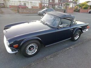 1072  TRIUMPH TR6 PI 150BHP,CP ORIGINAL UK CAR For Sale