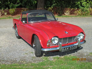 1964 Triumph TR4  O/D For Sale