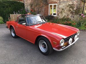 1971 Triumph TR6 150 BHP Overdrive For Sale