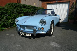 1964 Triumph Spitfire 4 MK1. Left Hand Drive. For Sale