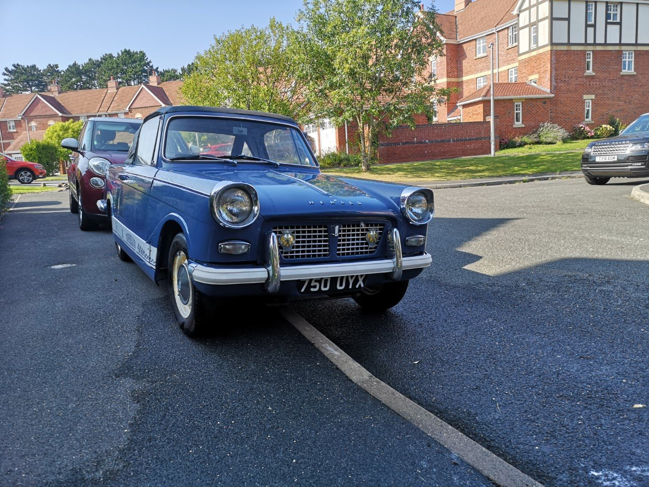 1961 Triumph Herald Convertible SOLD (picture 2 of 6)
