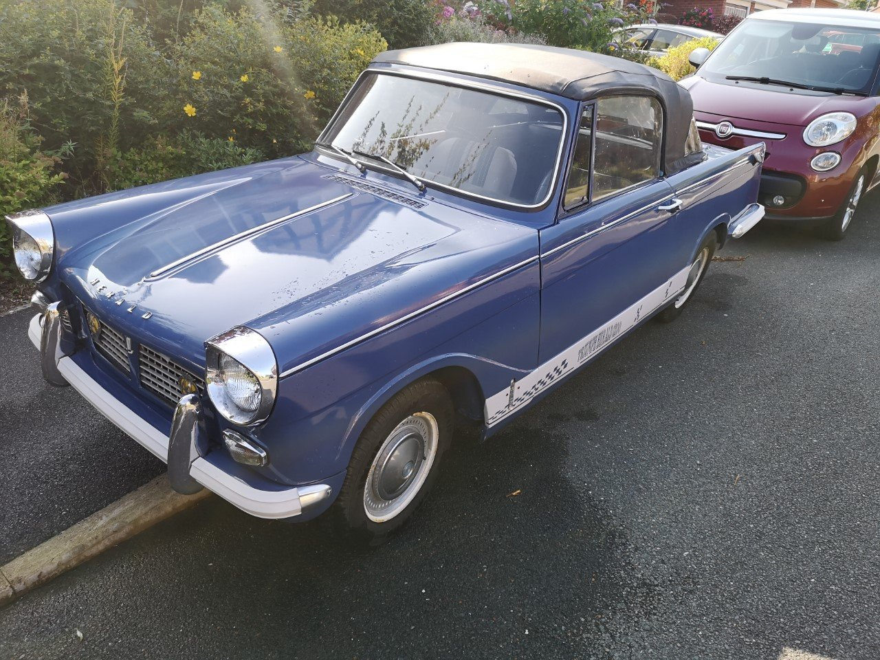 1961 Triumph Herald Convertible SOLD (picture 3 of 6)
